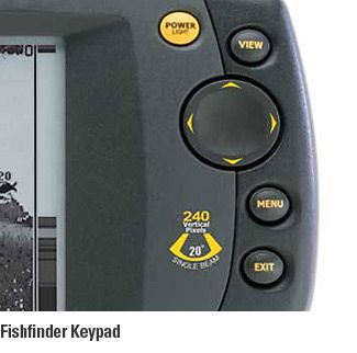 how to read a humminbird 525 fish finder